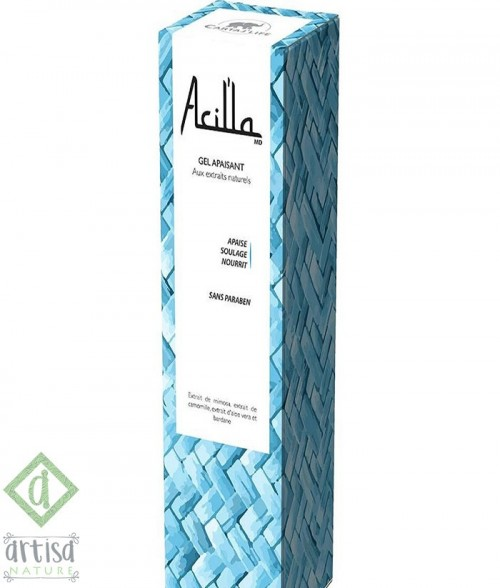 GEL APAISANT, ACILLA - 100 ML