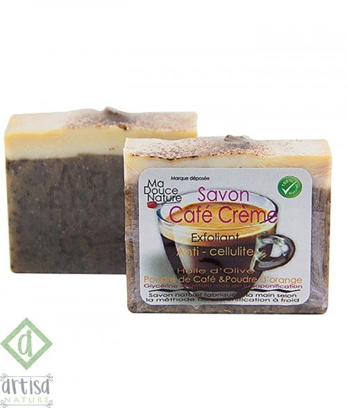 SAVON ANTI-CELLULITE CAFÉ & ORANGE